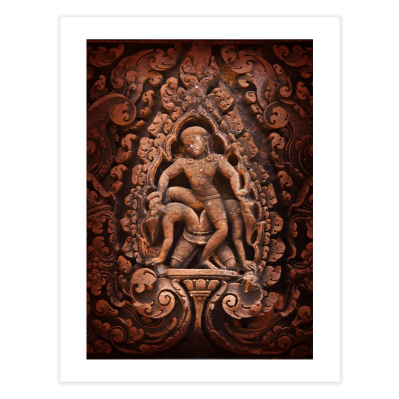 Khmer Warrior rebirth Home Fine Art Print by Peregrinus Creative