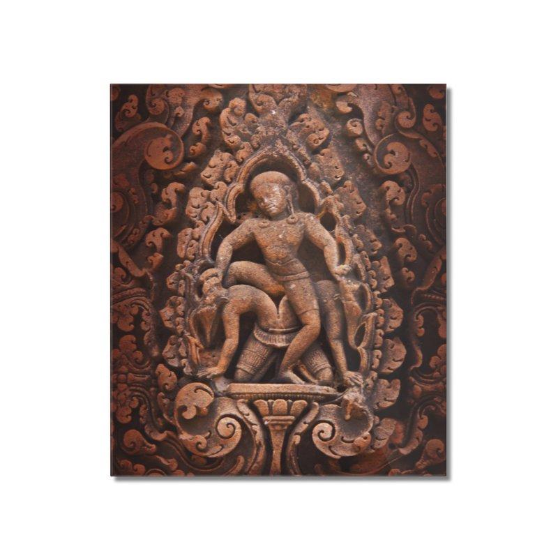 Khmer Warrior rebirth Home Mounted Acrylic Print by Peregrinus Creative