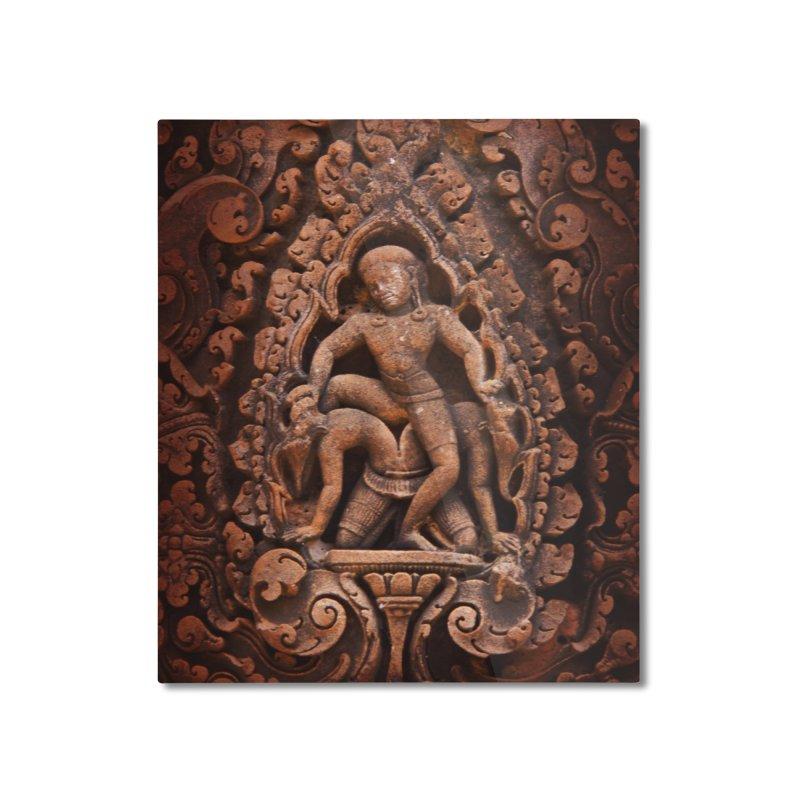 Khmer Warrior rebirth Home Mounted Aluminum Print by Peregrinus Creative