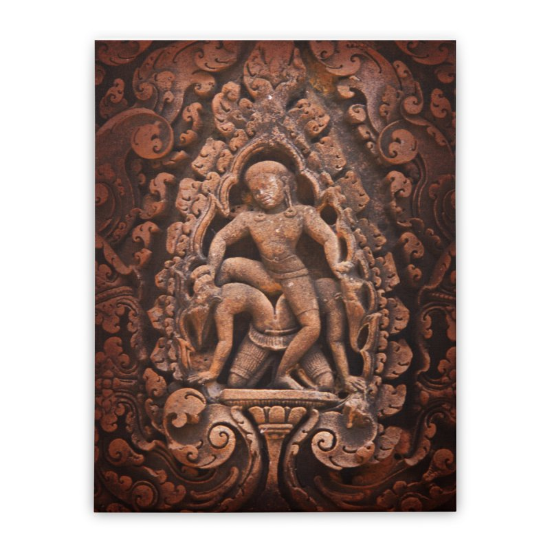 Khmer Warrior rebirth Home Stretched Canvas by Peregrinus Creative