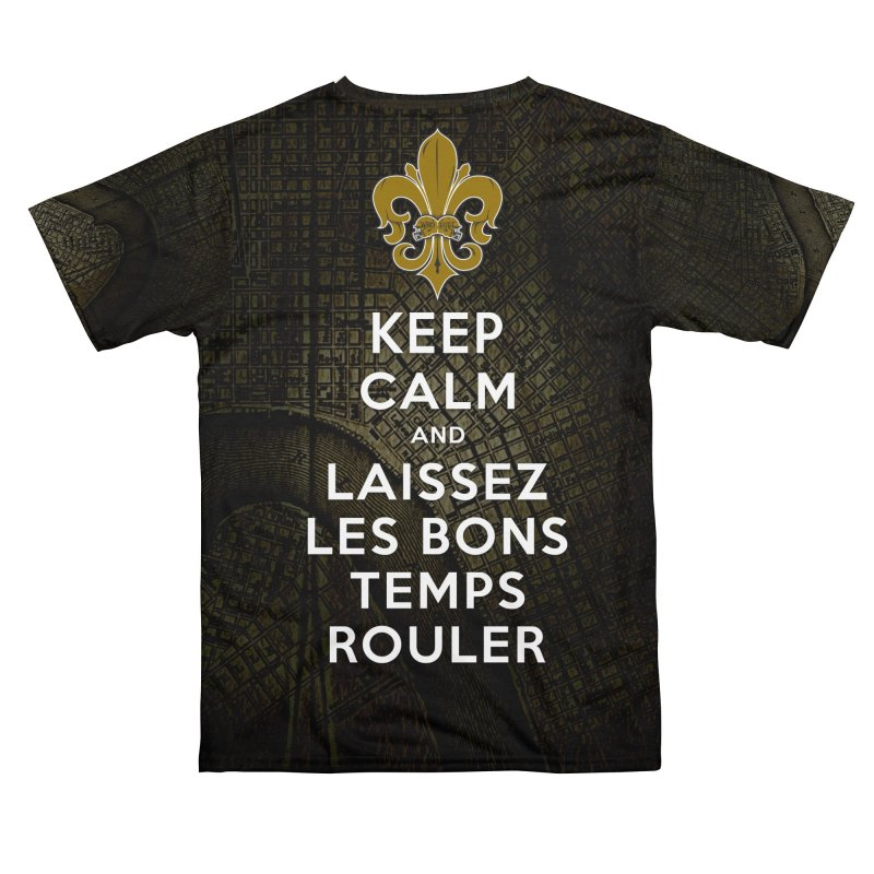 WHO DATs need to KEEP CALM Men's Cut & Sew by Peregrinus Creative