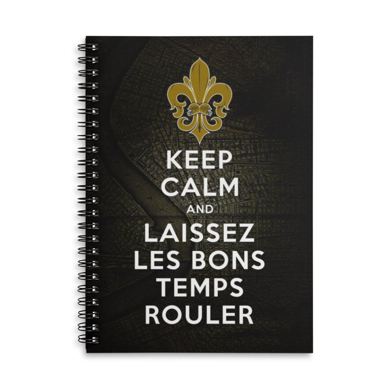 WHO DATs need to KEEP CALM Accessories Lined Spiral Notebook by Peregrinus Creative