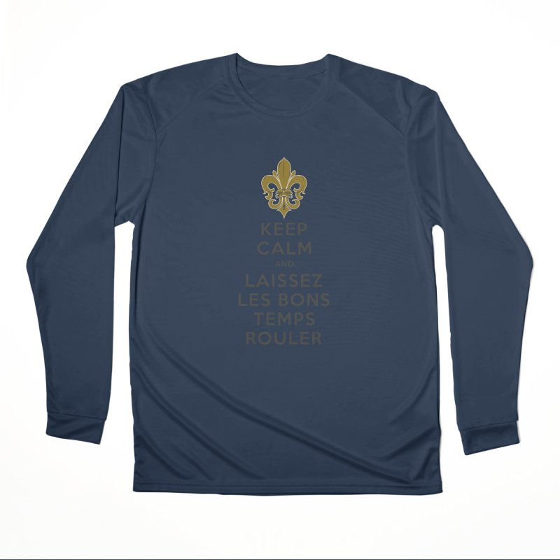 WHO DATs need to KEEP CALM Women's Performance Unisex Longsleeve T-Shirt by Peregrinus Creative