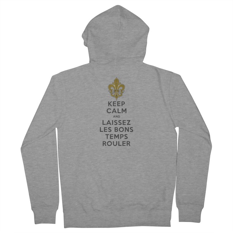 WHO DATs need to KEEP CALM Women's French Terry Zip-Up Hoody by Peregrinus Creative