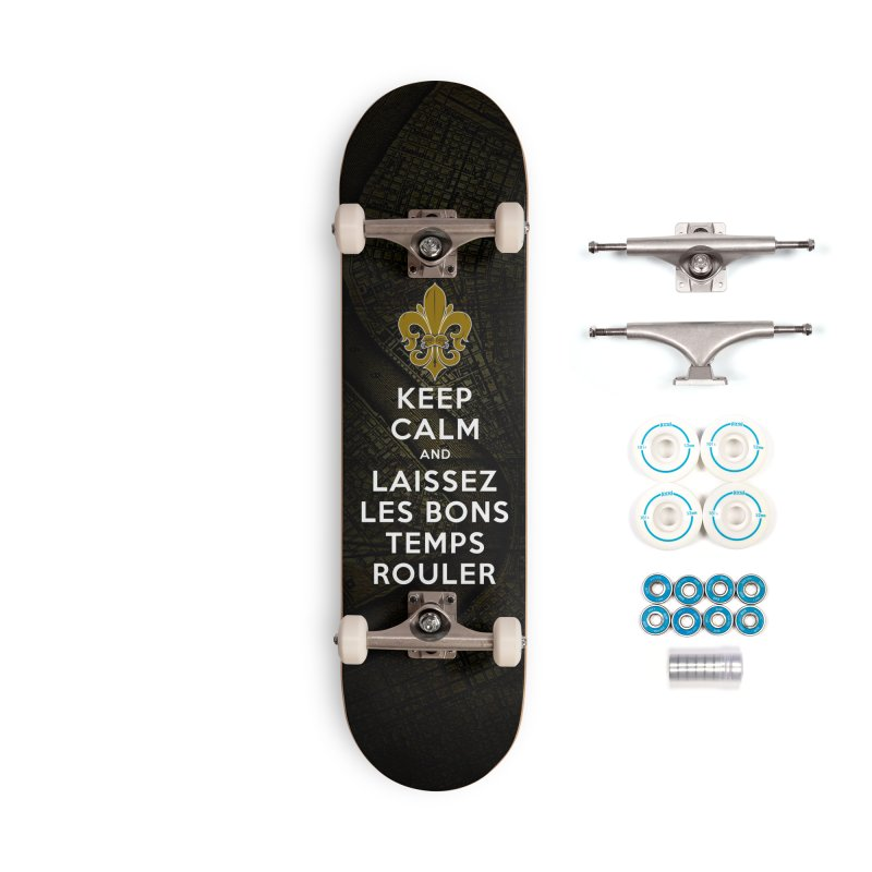 WHO DATs need to KEEP CALM Accessories Complete - Basic Skateboard by Peregrinus Creative