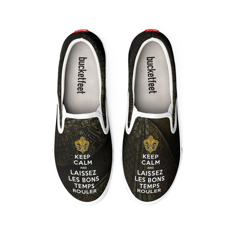 WHO DATs need to KEEP CALM Men's Shoes by Peregrinus Creative