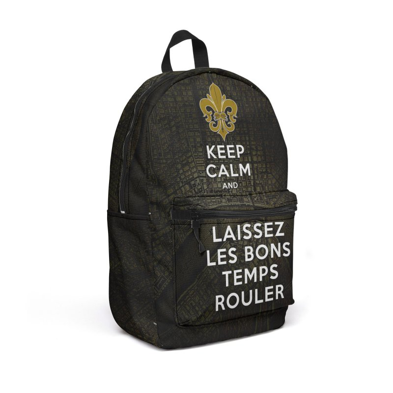 WHO DATs need to KEEP CALM in Backpack by Peregrinus Creative