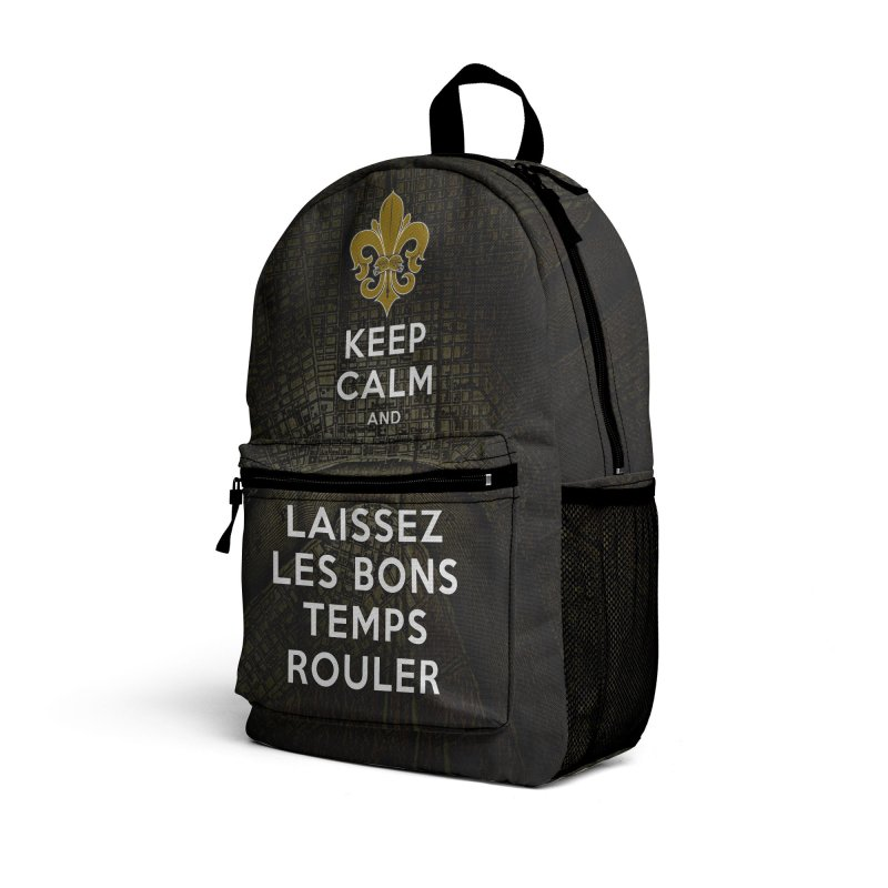 WHO DATs need to KEEP CALM Accessories Bag by Peregrinus Creative