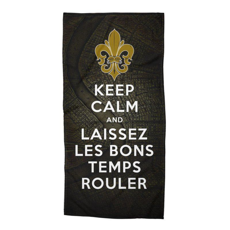 WHO DATs need to KEEP CALM Accessories Beach Towel by Peregrinus Creative