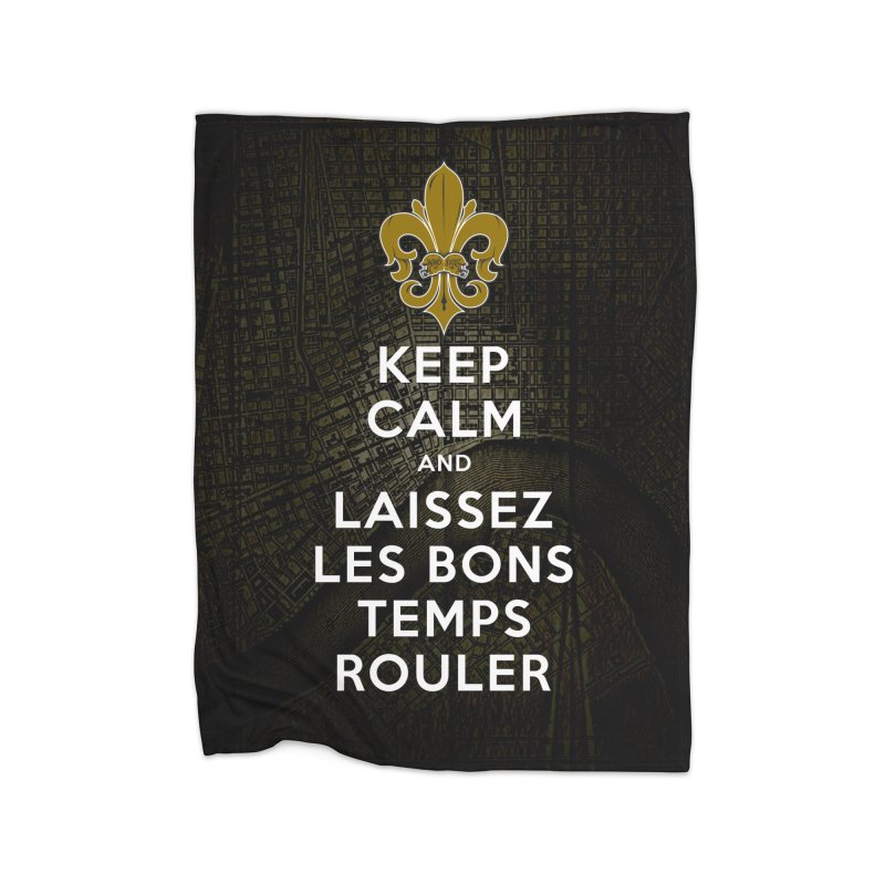 WHO DATs need to KEEP CALM Home Fleece Blanket Blanket by Peregrinus Creative