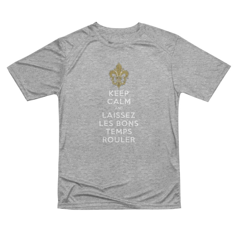 WHO DATs need to KEEP CALM Men's Performance T-Shirt by Peregrinus Creative