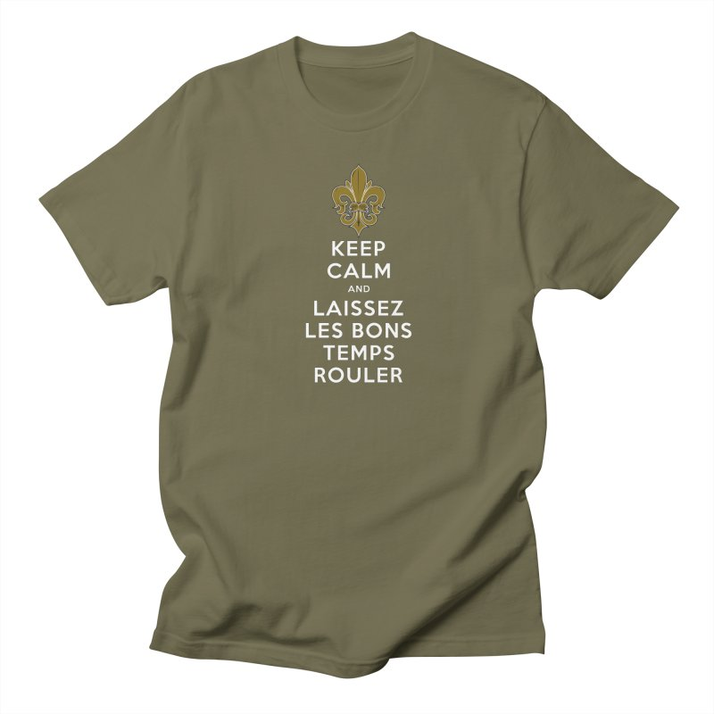 WHO DATs need to KEEP CALM Men's Regular T-Shirt by Peregrinus Creative
