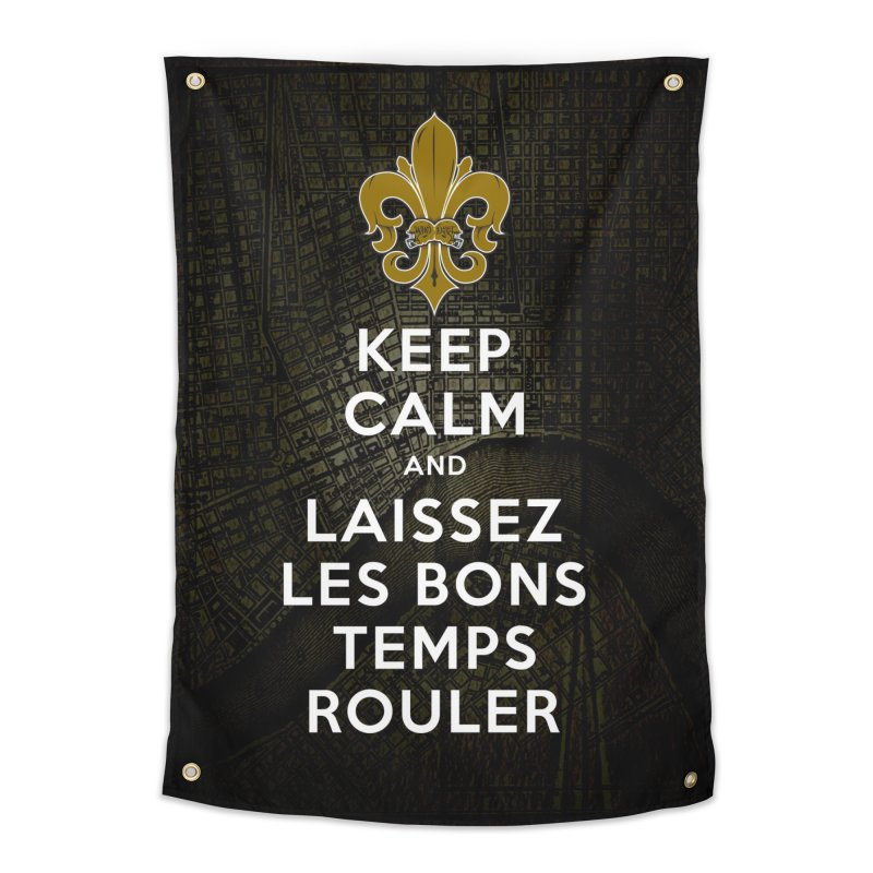 WHO DATs need to KEEP CALM Home Tapestry by Peregrinus Creative
