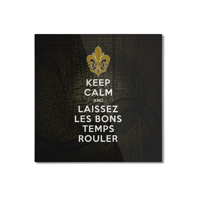 WHO DATs need to KEEP CALM Home Mounted Aluminum Print by Peregrinus Creative