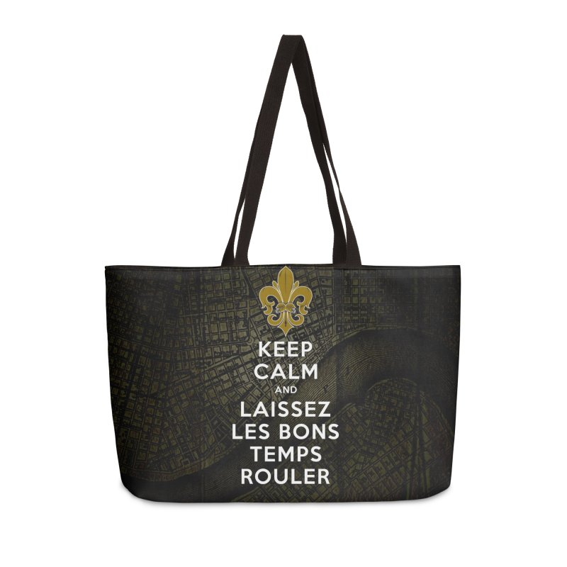 WHO DATs need to KEEP CALM Accessories Weekender Bag Bag by Peregrinus Creative