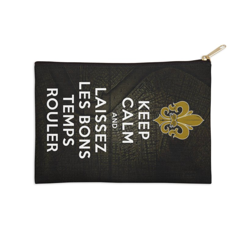 WHO DATs need to KEEP CALM Accessories Zip Pouch by Peregrinus Creative