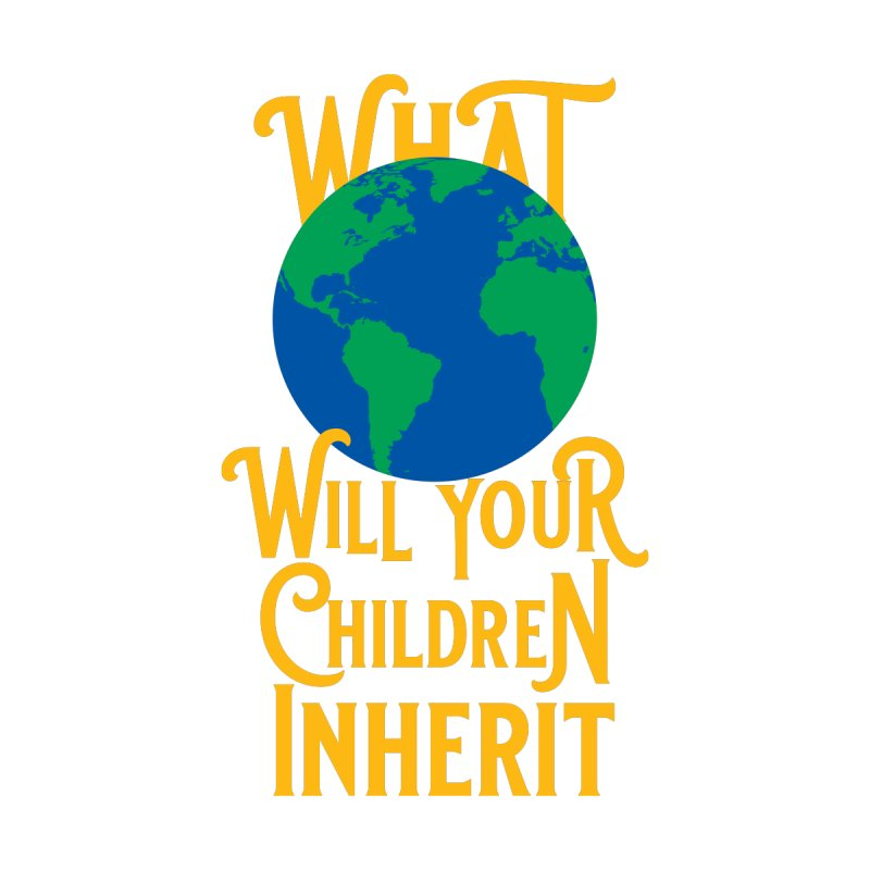 What World will Your Children Inherit Home Fine Art Print by Peregrinus Creative