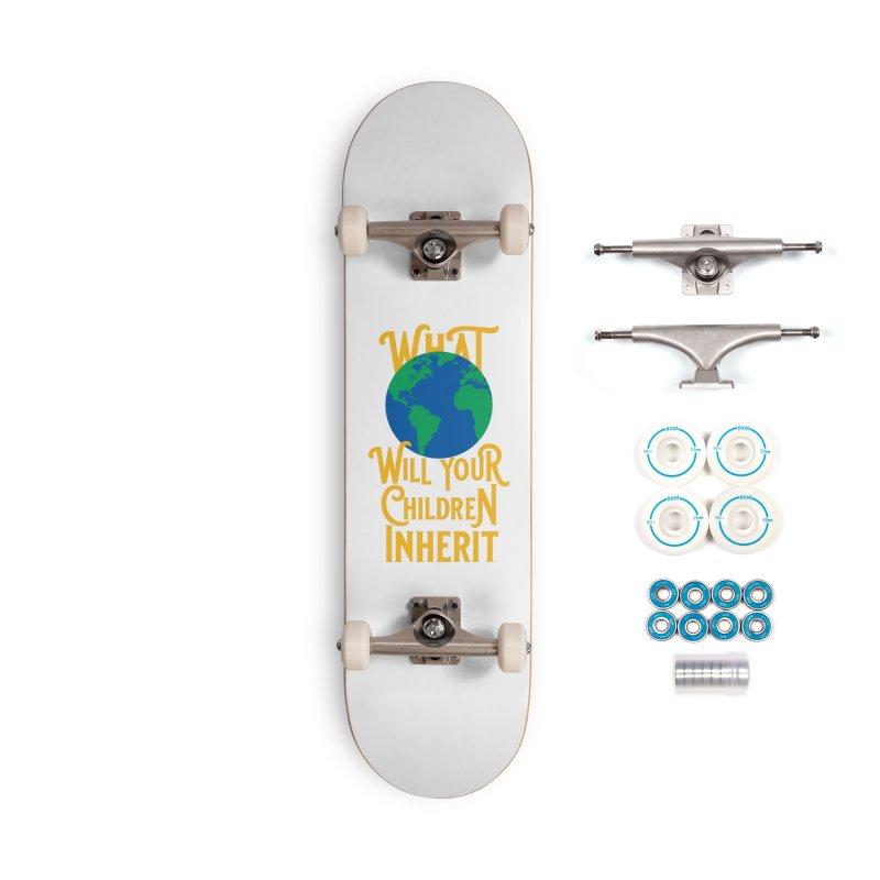 What World will Your Children Inherit Accessories Complete - Basic Skateboard by Peregrinus Creative