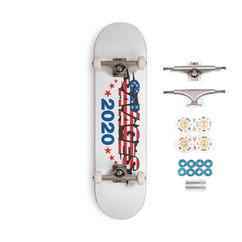 SAVAGES 2020 Accessories Complete - Premium Skateboard by Peregrinus Creative