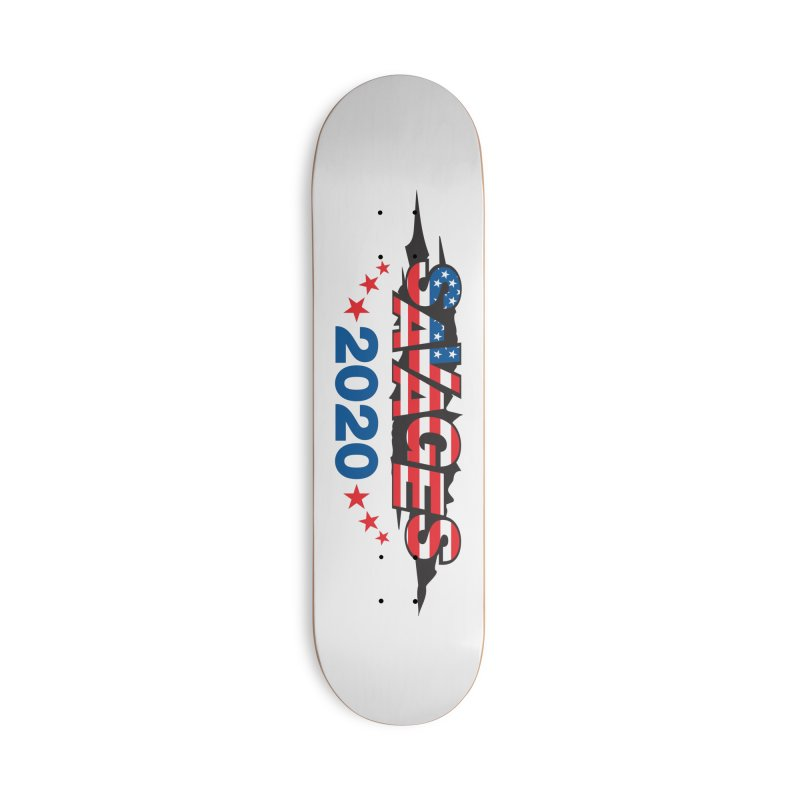 SAVAGES 2020 Accessories Deck Only Skateboard by Peregrinus Creative