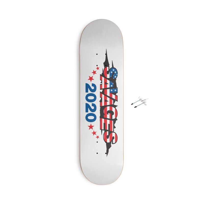 SAVAGES 2020 Accessories With Hanging Hardware Skateboard by Peregrinus Creative