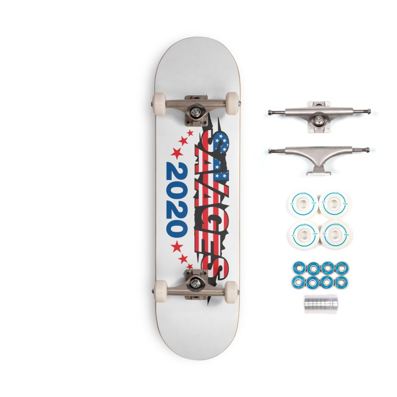 SAVAGES 2020 Accessories Complete - Basic Skateboard by Peregrinus Creative