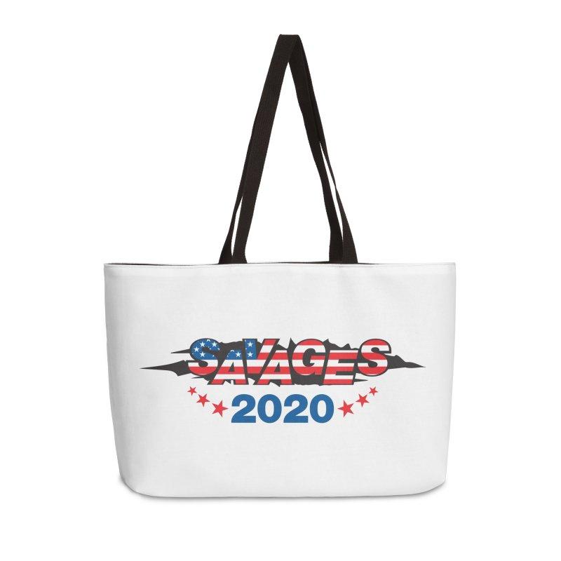 SAVAGES 2020 Accessories Weekender Bag Bag by Peregrinus Creative