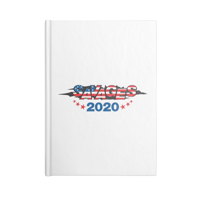SAVAGES 2020 Accessories Blank Journal Notebook by Peregrinus Creative