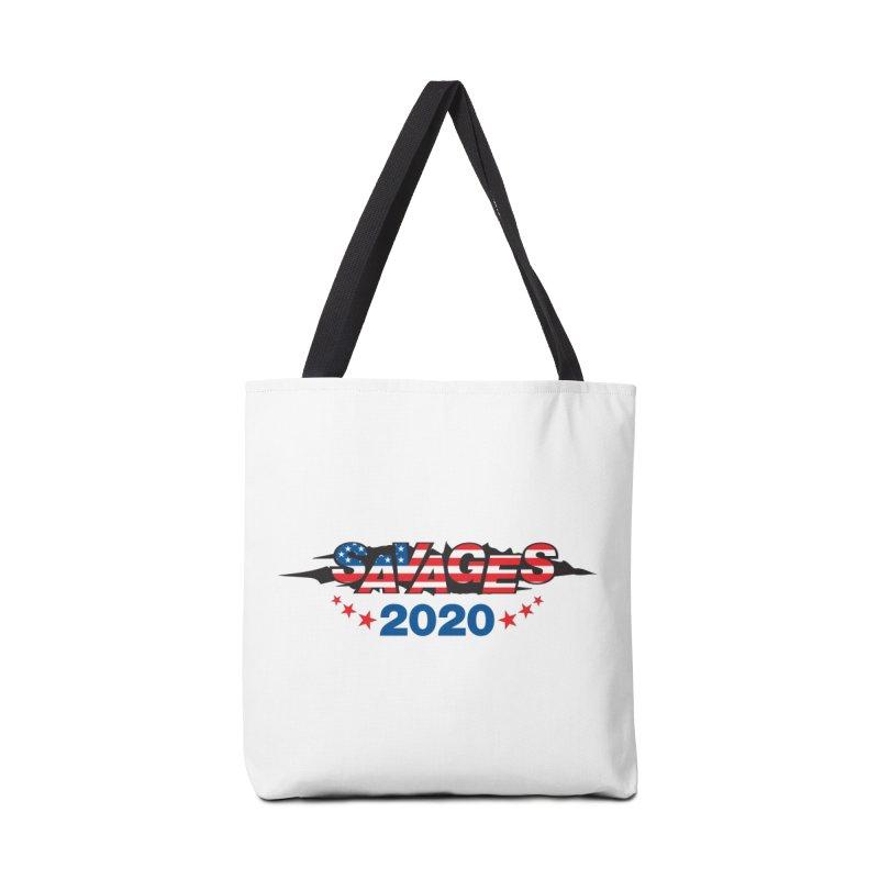 SAVAGES 2020 Accessories Tote Bag Bag by Peregrinus Creative