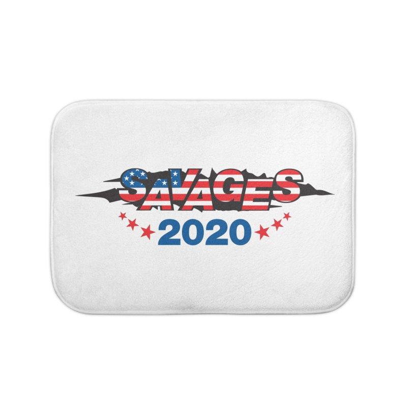 SAVAGES 2020 Home Bath Mat by Peregrinus Creative