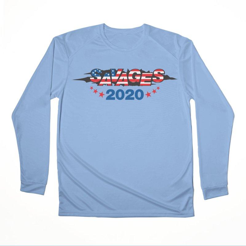 SAVAGES 2020 Men's Performance Longsleeve T-Shirt by Peregrinus Creative