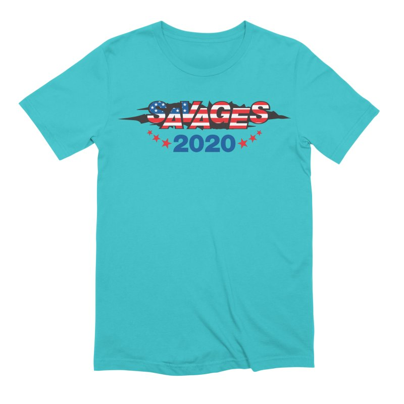 SAVAGES 2020 Men's Extra Soft T-Shirt by Peregrinus Creative