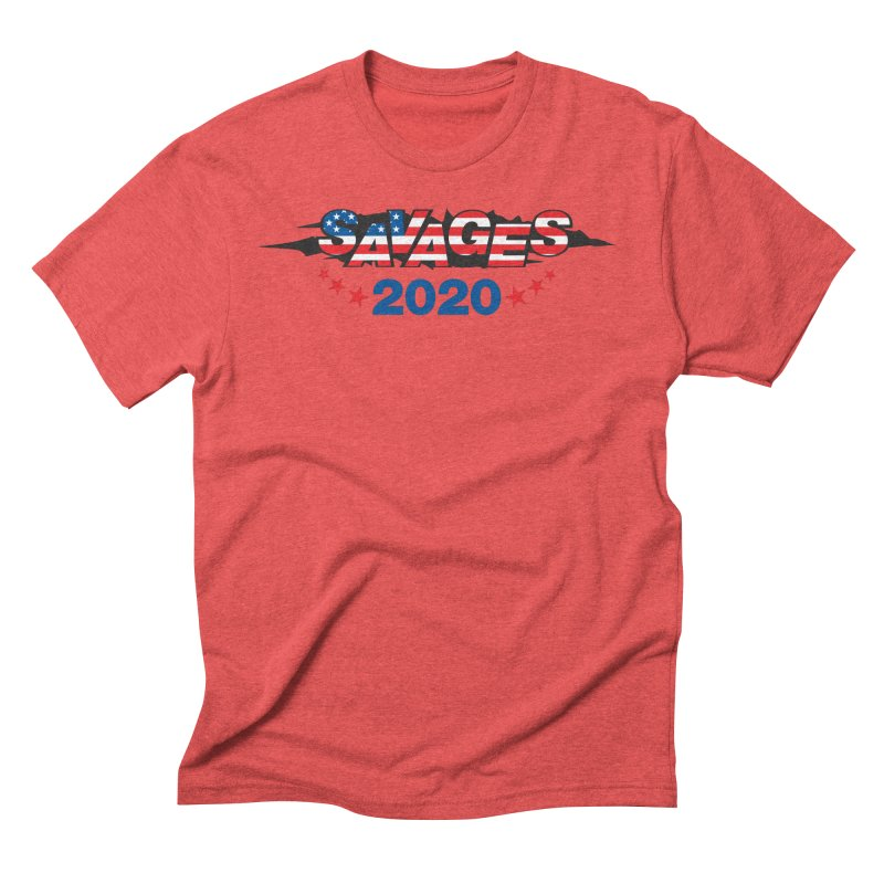SAVAGES 2020 Men's Triblend T-Shirt by Peregrinus Creative