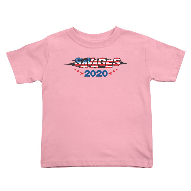 SAVAGES 2020 Kids Toddler T-Shirt by Peregrinus Creative