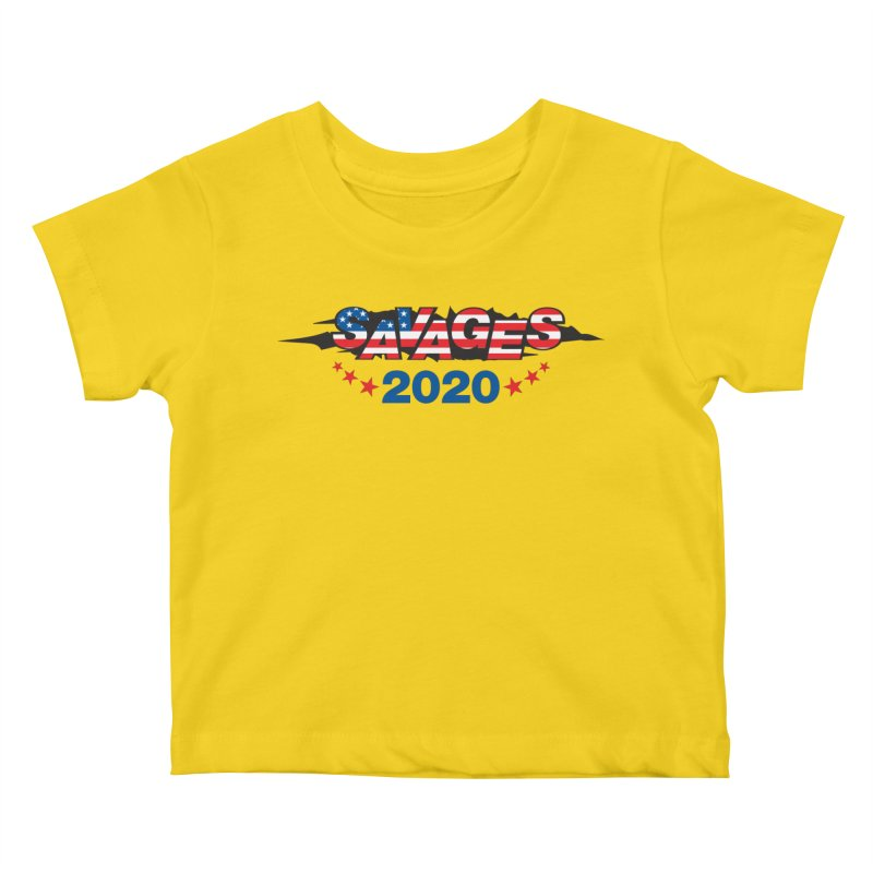 SAVAGES 2020 Kids Baby T-Shirt by Peregrinus Creative