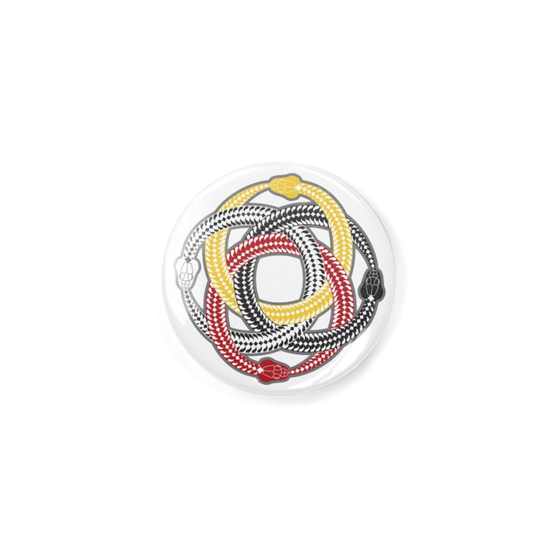 Unity Ouroboros Accessories Button by Peregrinus Creative
