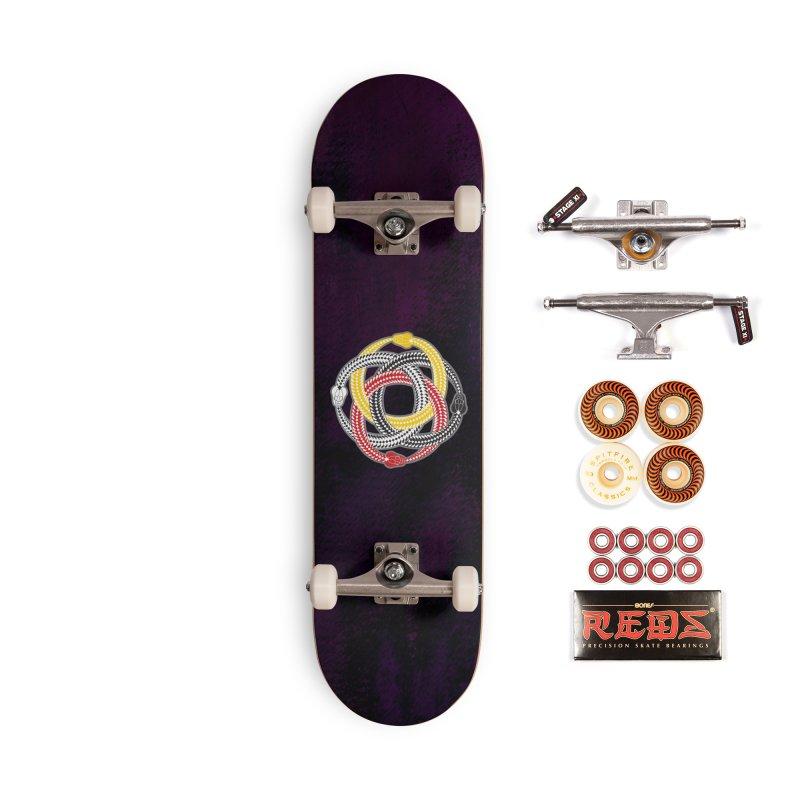 Unity Ouroboros Accessories Skateboard by Peregrinus Creative