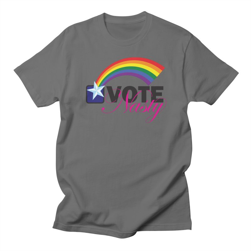 VOTE Nasty LGBTQ Men's T-Shirt by Peregrinus Creative