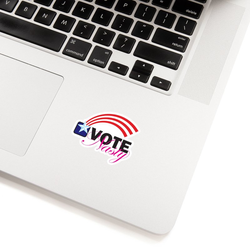 Star Spangled right to VOTE Nasty Accessories Sticker by Peregrinus Creative