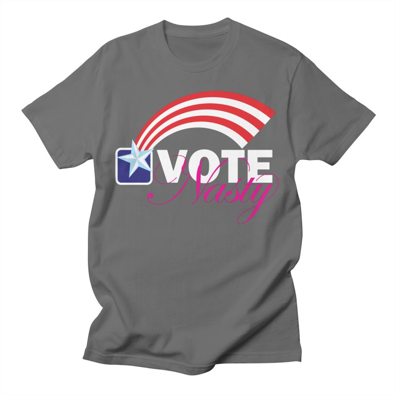 Star Spangled right to VOTE Nasty reversed Men's T-Shirt by Peregrinus Creative