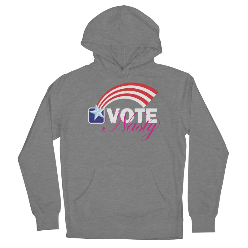 Star Spangled right to VOTE Nasty reversed Women's Pullover Hoody by Peregrinus Creative