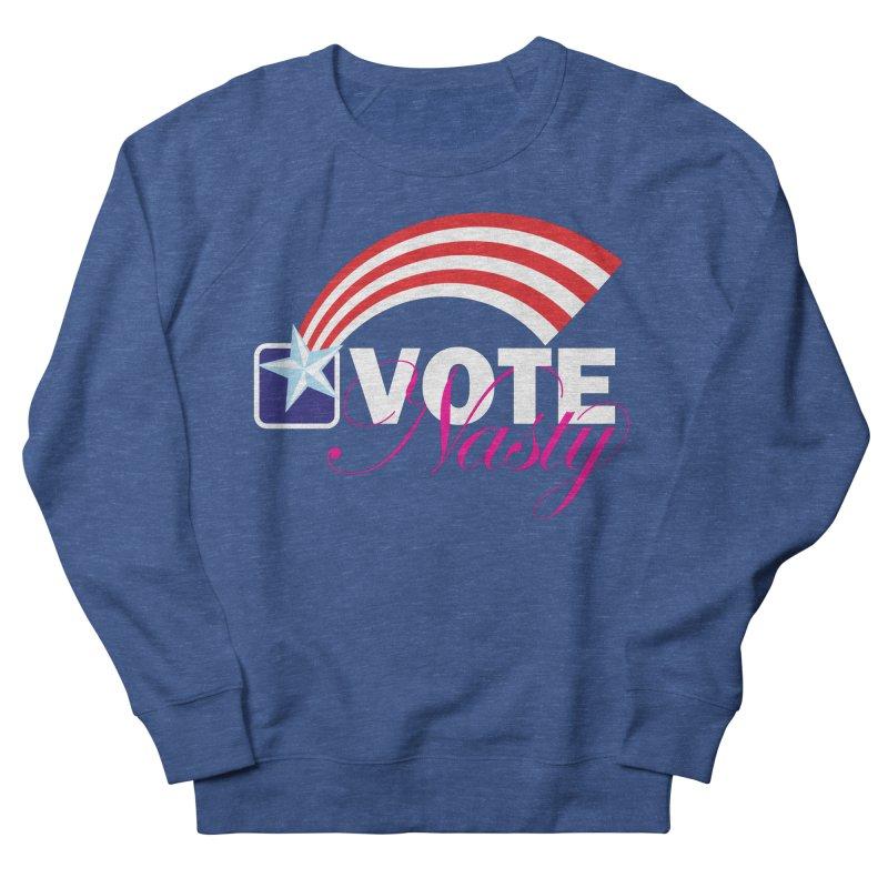 Star Spangled right to VOTE Nasty reversed Men's Sweatshirt by Peregrinus Creative