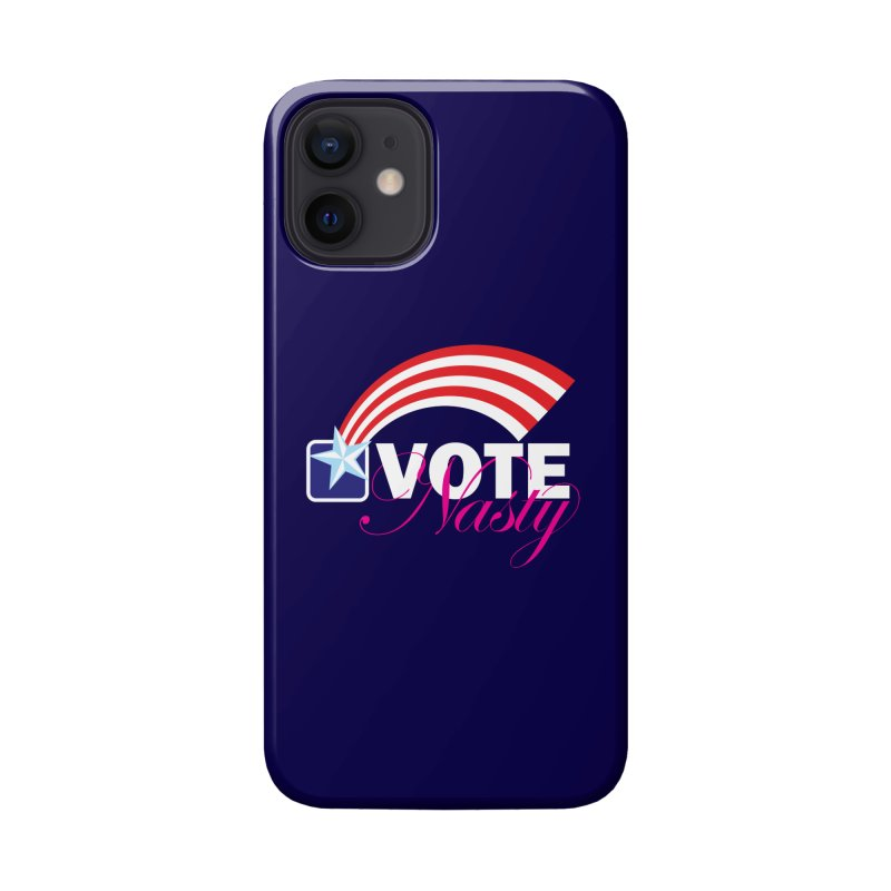 Star Spangled right to VOTE Nasty reversed Accessories Phone Case by Peregrinus Creative
