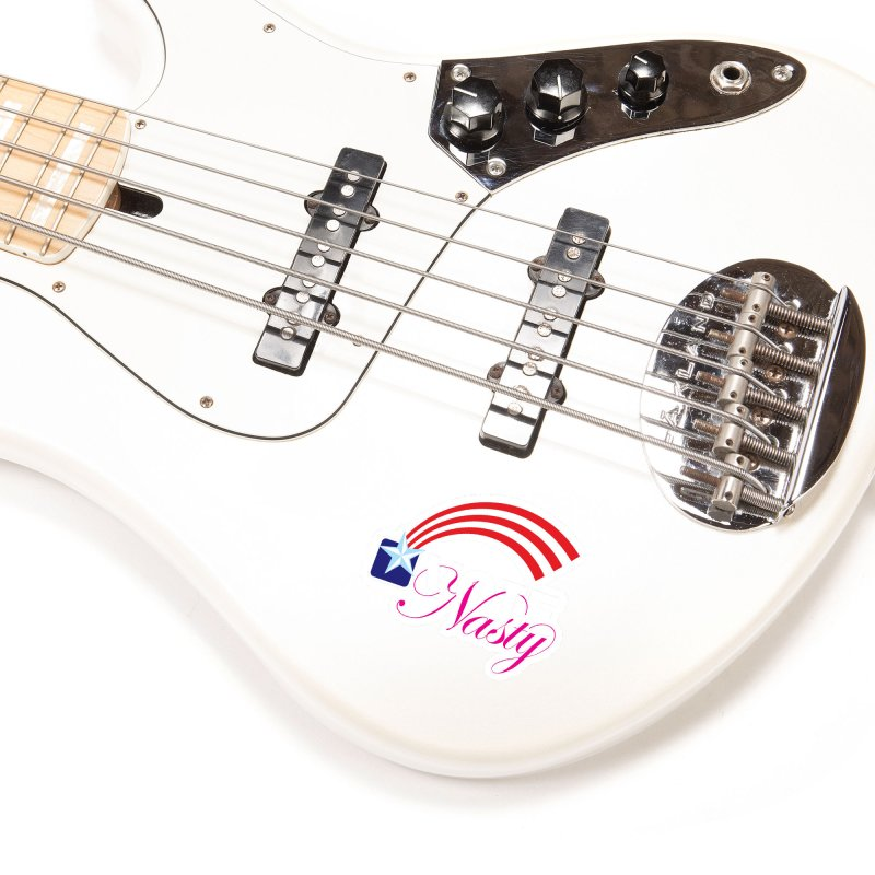 Star Spangled right to VOTE Nasty reversed Accessories Sticker by Peregrinus Creative