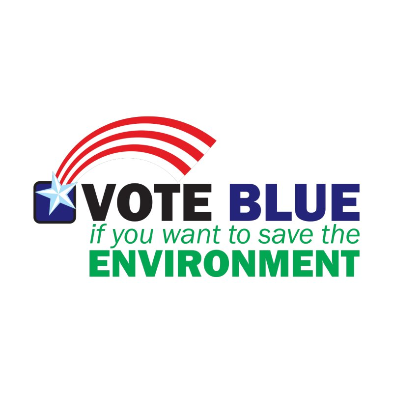 VOTE BLUE for the ENVIRONMENT Men's T-Shirt by Peregrinus Creative