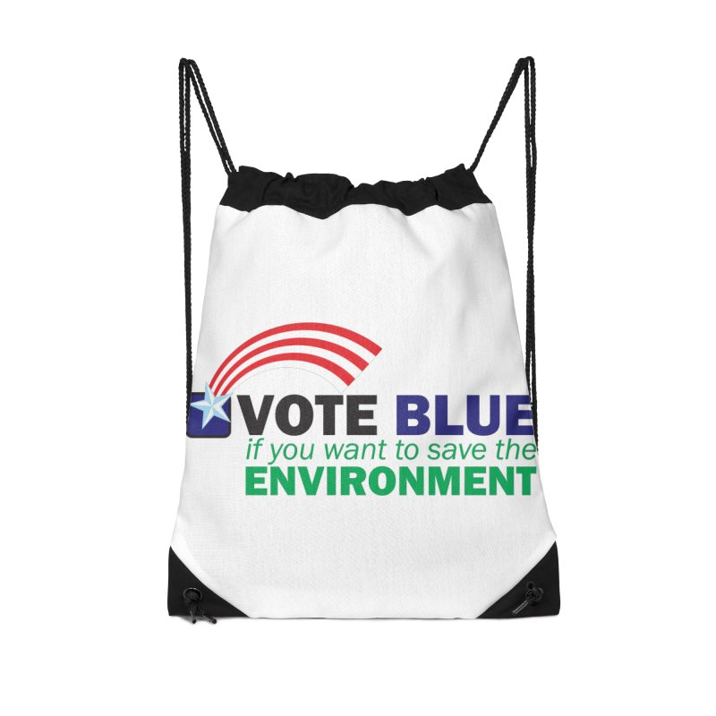 VOTE BLUE for the ENVIRONMENT Accessories Bag by Peregrinus Creative