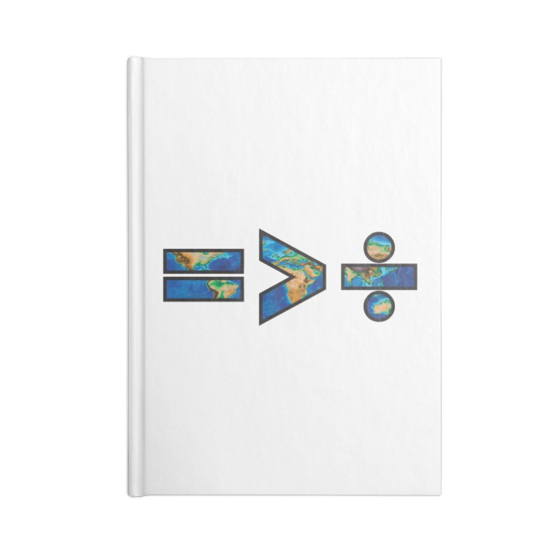 Equality is Greater than Division Accessories Notebook by Peregrinus Creative