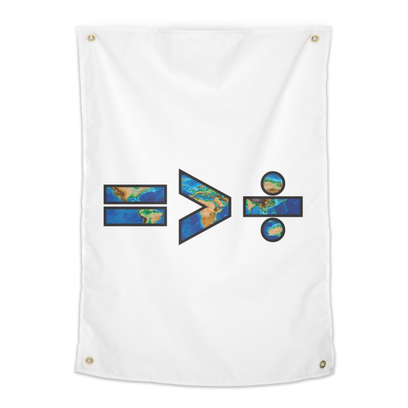 Equality is Greater than Division Home Tapestry by Peregrinus Creative