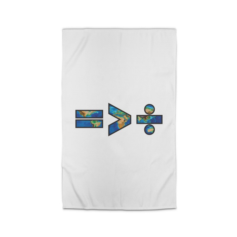Equality is Greater than Division Home Rug by Peregrinus Creative