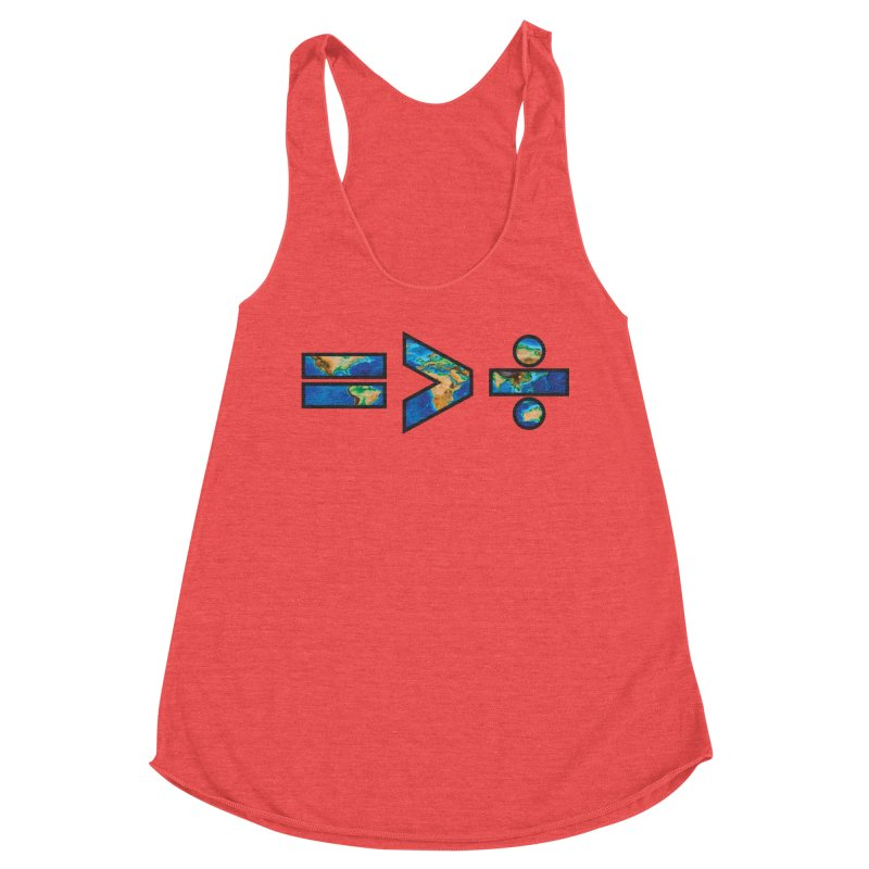Equality is Greater than Division Women's Tank by Peregrinus Creative